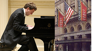YM Piano Studio news: Vituoso pianist Yevgeny Morozov performs Liszt at  Carnegie Hall's Weill Hall.